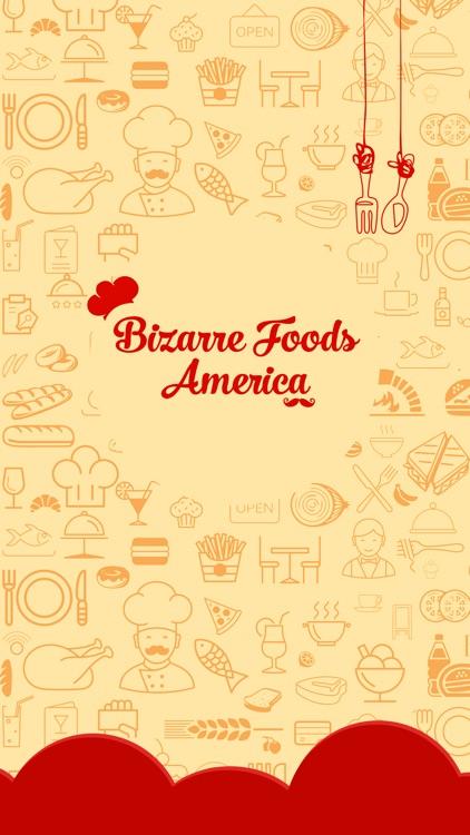 Great App for Bizarre Foods America