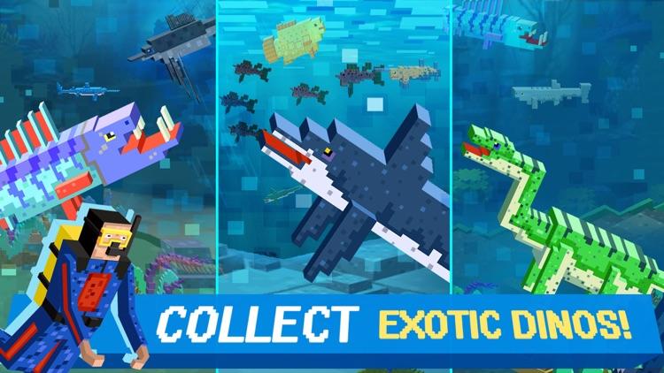 Sea Jurassic Craft - Dino & Shark Tiny World games