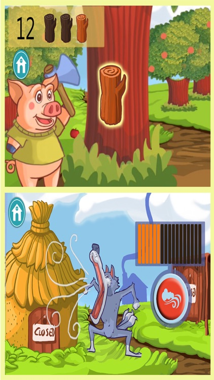 Three little pigs tale PRO screenshot-3