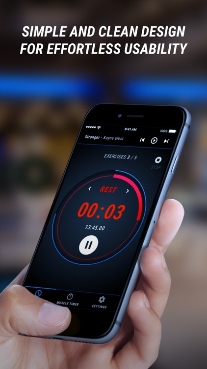 JY Fitness Timer - powered by FITSIFU screenshot-4