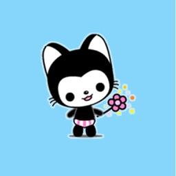 Playful Kitty - Cute Stickers!