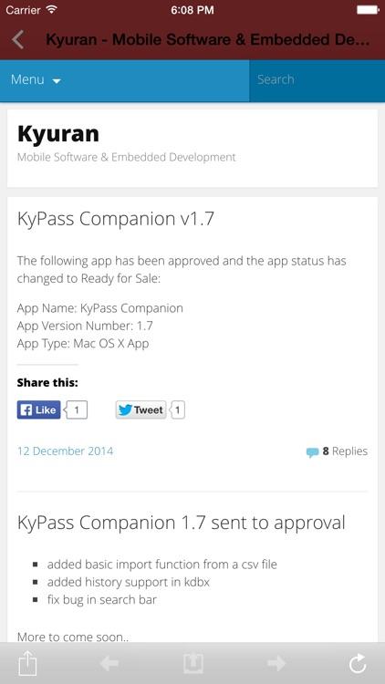 KyPass 3 - Keepass in sync screenshot-4