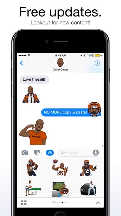 OchoMoji by Ochocinco screenshot 4