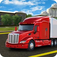 Activities of Cargo Trailer Driving Simulation: Truck Delivery