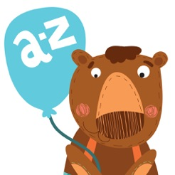 A-Z Cute Animals Alphabet