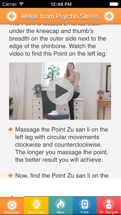 Relax and Relieve Stress NOW With Massage Points