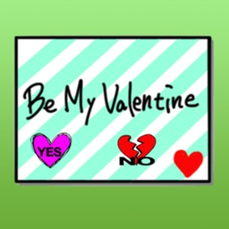 Valentine's Day Cards Stickers Packs