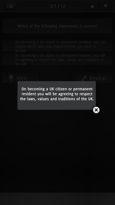Life in the UK Test Question 2017 screenshot 5