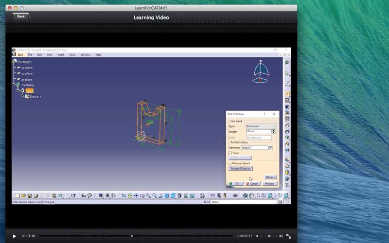 LearnFor CATIAV5 screenshot 5