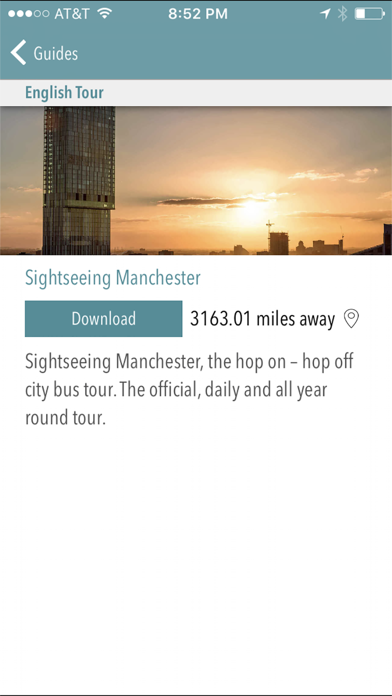 Sightseeing Manchester screenshot two