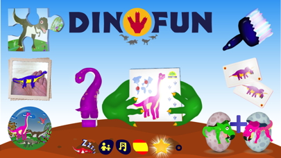 DinoFun - Dinosaurs & games for Kids