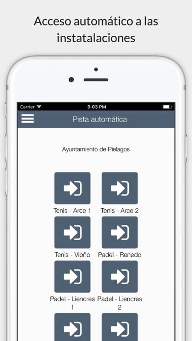 Piélagos deportes screenshot 4