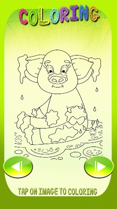 Kids Coloring Pages Mouse And Pep Pig Games app image