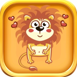 Lion Stickers - Lion Emoji Sticker Pack