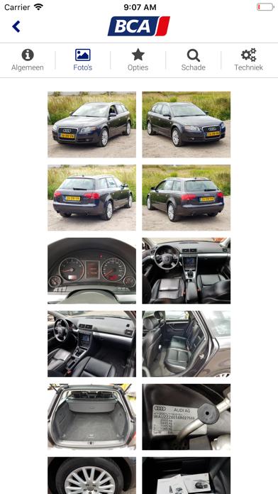 BCA Autoveiling screenshot four
