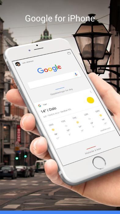 Screenshot for Google in Norway App Store