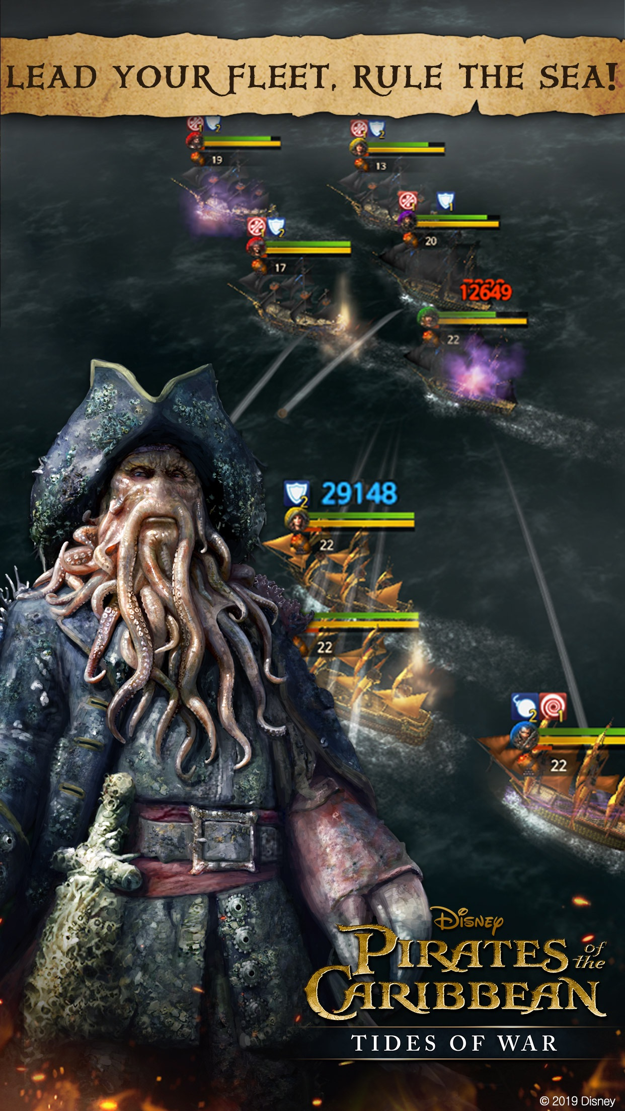 Pirates of the Caribbean : ToW Screenshot