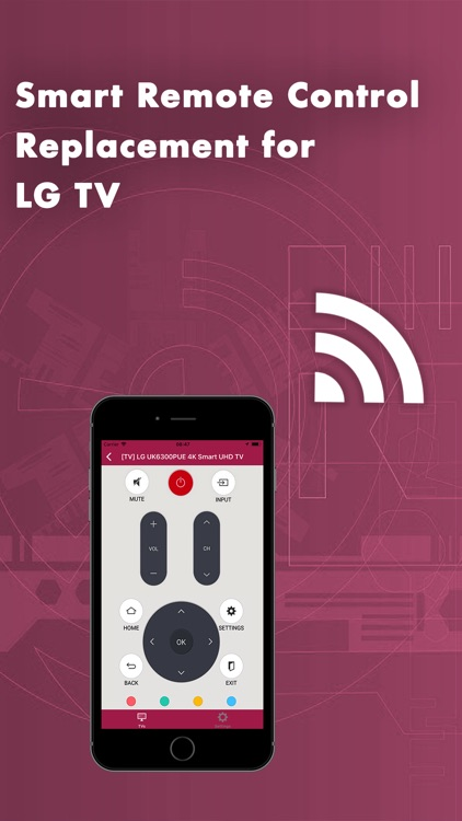 Smart Remote Control for LG TV by Digital Star Tech Inc