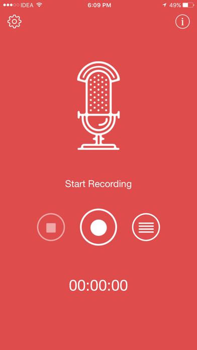 Voice Recorder PRO Screenshots