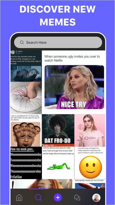 Memes Generator + Meme Creator Screenshot