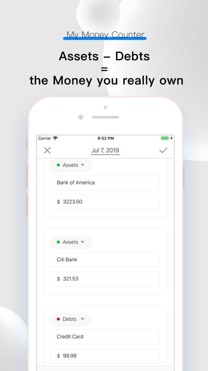 My Money Counter