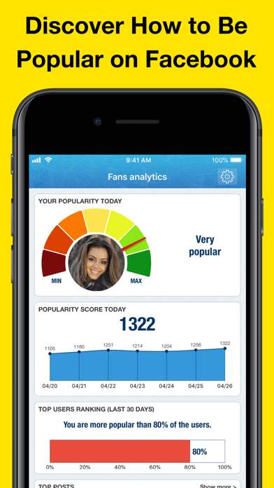 MyTopFans Pro - Social Tracker Screenshots
