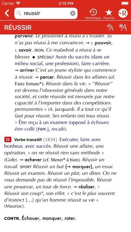 Dictionnaire Le Petit Robert screenshot-5