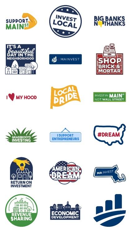 Mainvest Sticker Pack