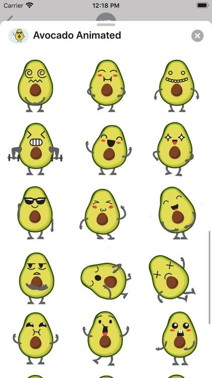 Avocado: Animated Stickers screenshot-4