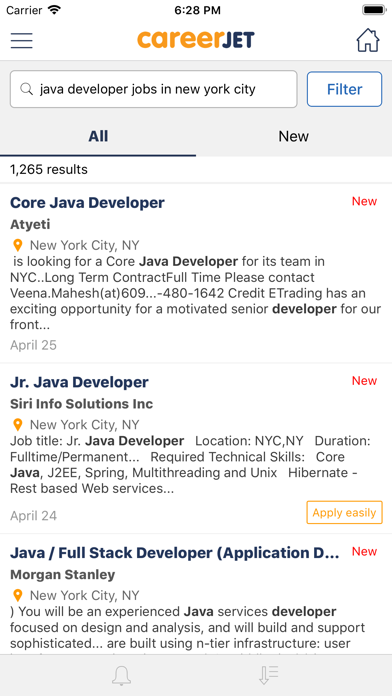 Careerjet Job SearchScreenshot of 5