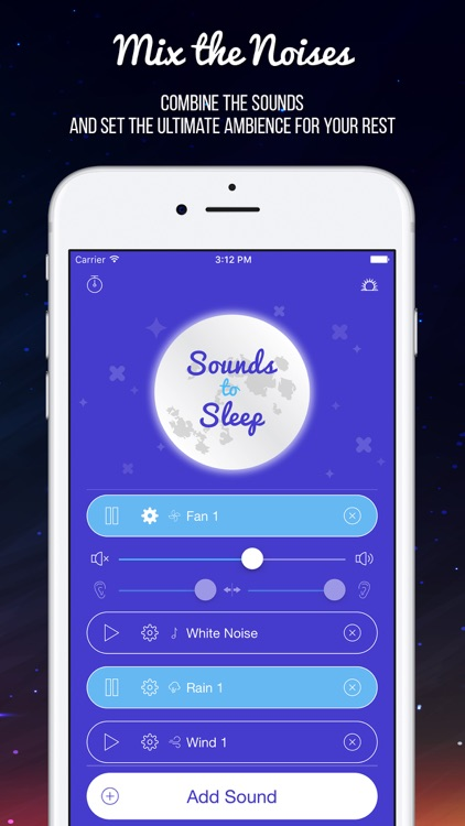 Sounds to Sleep: White Noise screenshot-1