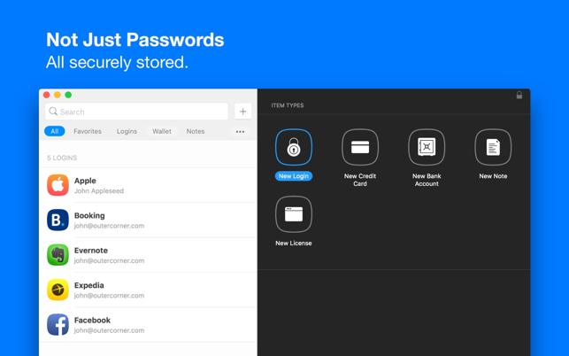 Secrets | Password Manager on the Mac App Store