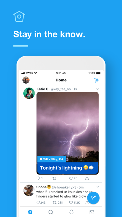 Screenshot for Twitter in Singapore App Store