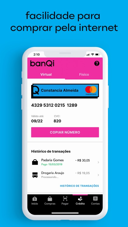 banQi - conta digital screenshot-4
