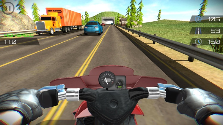 Highway Moto Traffic Rider
