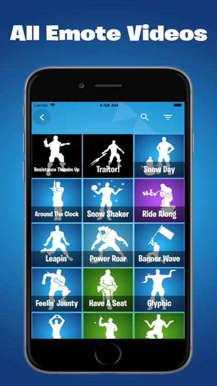 Emotes And Shop For Fortnite