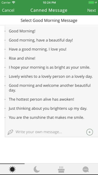Schedule SMS screenshot three