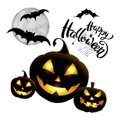 Halloween Emojis Sticker