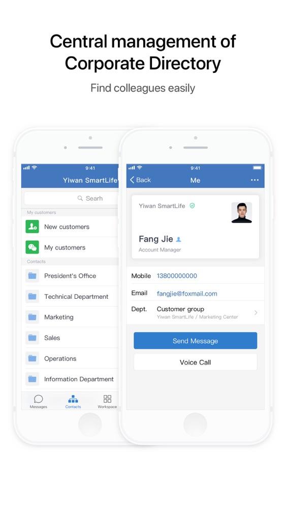 Wechat Meeting App