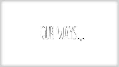 Our Ways