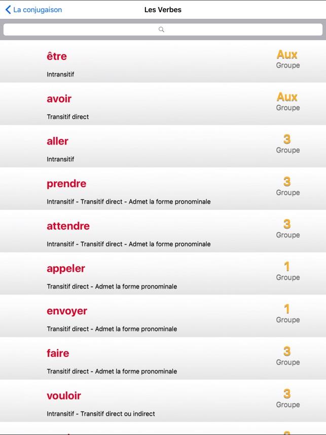 La Conjugaison Francaise L Obs Dans L App Store