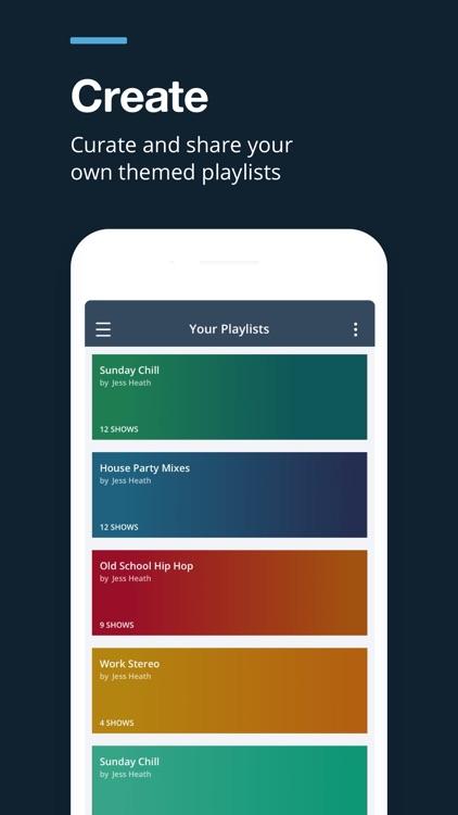 Mixcloud - Radio & DJ mixes screenshot-4