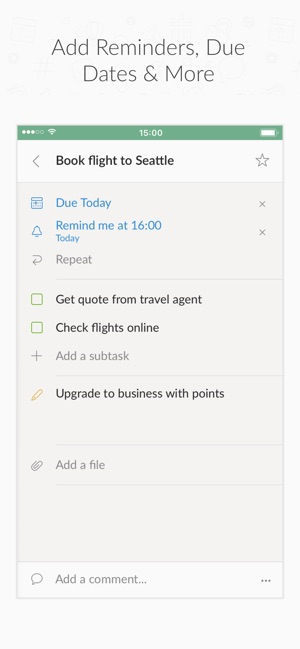 Wunderlist: To-Do List & Tasks on the App Store