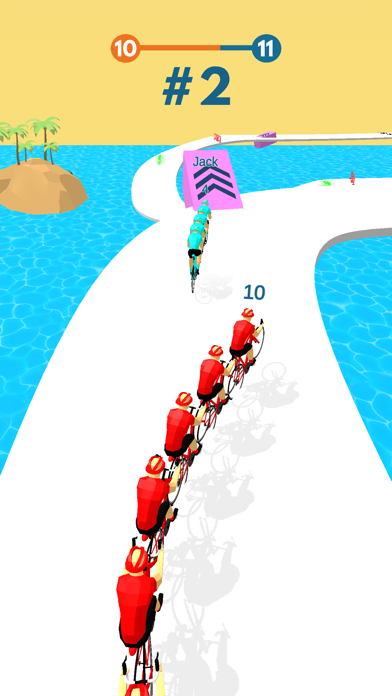Cycling Stack Race screenshot 1