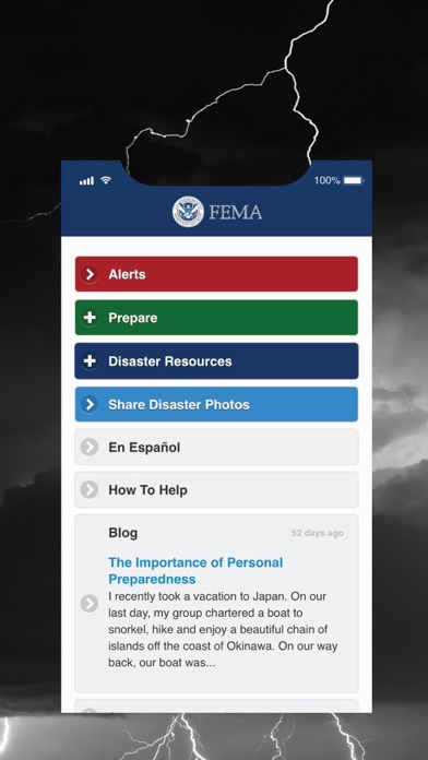 Fema review screenshots