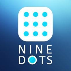 Nine Dots - Math Puzzle -
