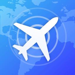 Ícone do app Rastreador de Voo.