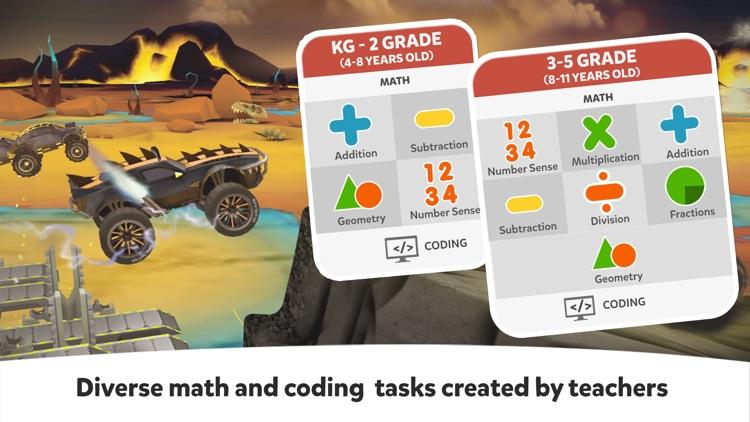 Cool Math Games: Kids Race Car screenshot-3