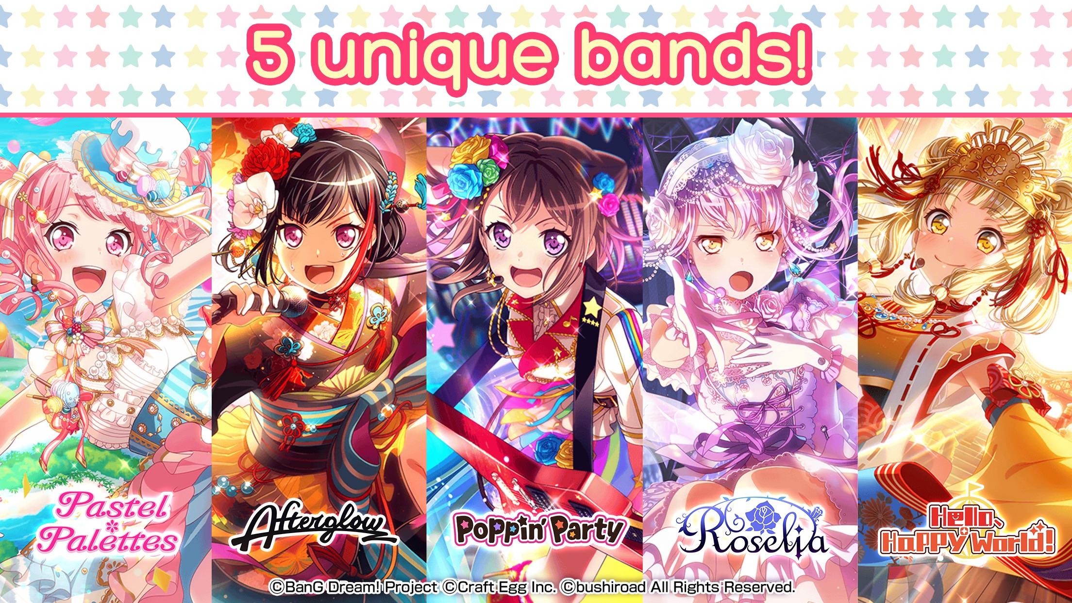BanG Dream! Girls Band Party! Screenshot