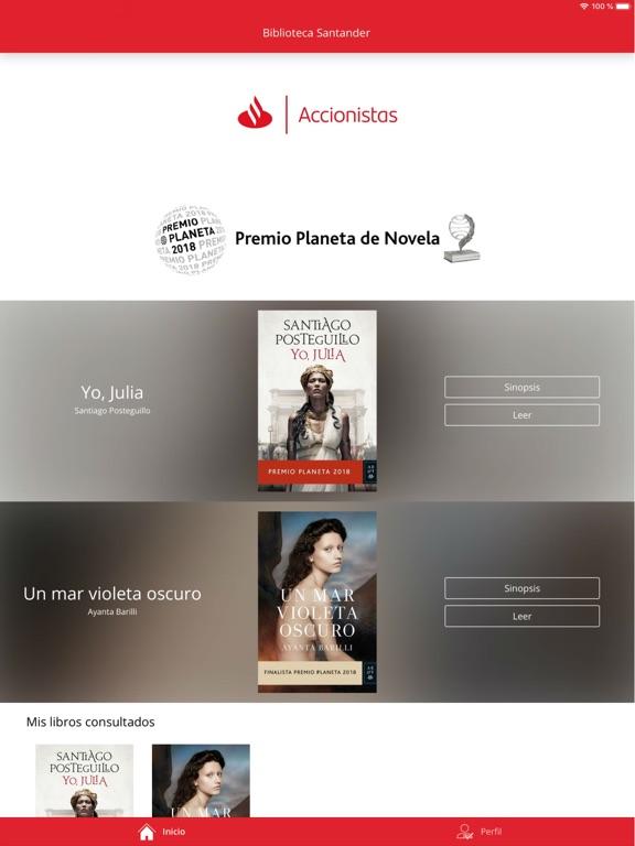 Biblioteca Digital Santander screenshot #2